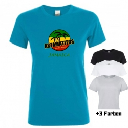 "Astamatitos T-Shirt ""JAMAICA"" Women"