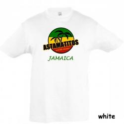 "Astamatitos T-Shirt ""JAMAICA"" KIDS"