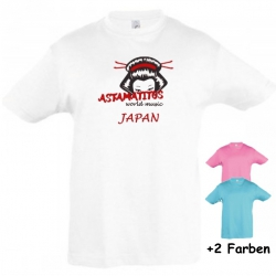 "Astamatitos T-Shirt ""JAPAN"" KIDS"