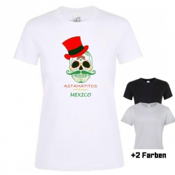 "Astamatitos T-Shirt ""MEXICO"" Women"