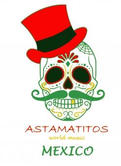 "Astamatitos Hoodie ""MEXICO"" Unisex"