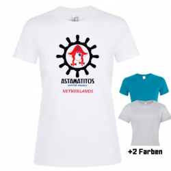 "Astamatitos T-Shirt ""NETHERLANDS"" Women"
