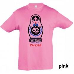 "Astamatitos T-Shirt ""RUSSIA"" KIDS"
