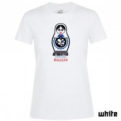 """Astamatitos T-Shirt """"RUSSIA"""" Women"""