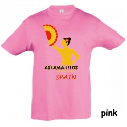"Astamatitos T-Shirt ""SPAIN"" KIDS"