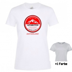 "Astamatitos T-Shirt ""SWITZERLAND"" Women"