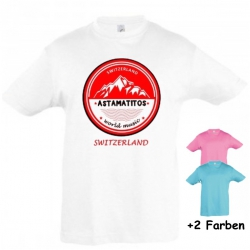 "Astamatitos T-Shirt ""SWITZERLAND"" KIDS"