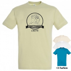 "Astamatitos T-Shirt ""CRETE MINOAN"" MEN"