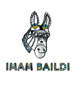 "Imam Baildi Kids-Shirt ""DONKEY"" white"