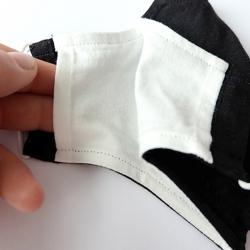 "Premium Baumwoll-Stoffmaske ""KAVALA"""
