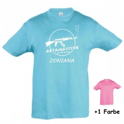 "Astamatitos T-Shirt ""CRETE ZONIANA"" KIDS"