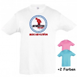"Astamatitos T-Shirt ""MUSIC REVOLUTION"" KIDS"