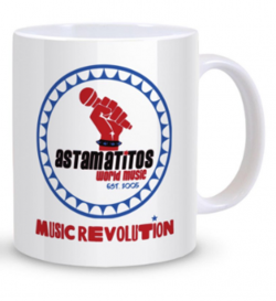 "Astamatitos Tasse ""MUSIC REVOLUTION"""