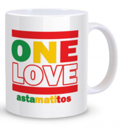 "Astamatitos Tasse ""ONE LOVE"""