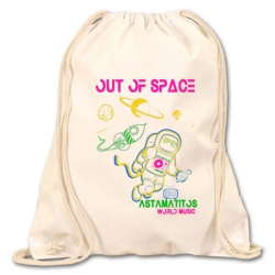 """Turn- und Festival-Beutel """"OUT OF SPACE"""""""