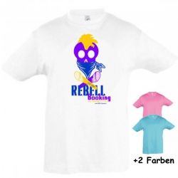 "Astamatitos T-Shirt ""REBELL BOOKING"" KIDS"