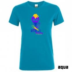 """Astamatitos T-Shirt """"REBELL BOOKING"""" Women"""