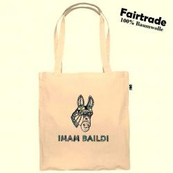 """Imam Baildi """"DONKEY"""" Fairtrade Baumwolltasche"""