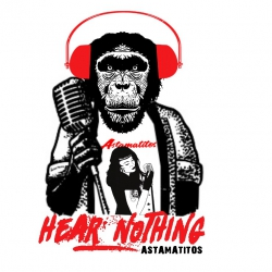 "Astamatitos T-Shirt  ""HEAR NOTHING"" Women"