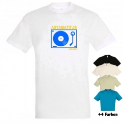 "Astamatitos T-Shirt ""TURNTABLE"" MEN"