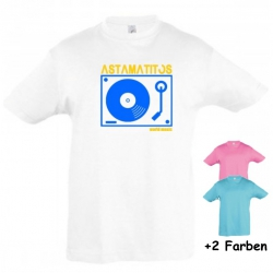 "Astamatitos T-Shirt ""TURNTABLE"" KIDS"