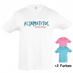 "Astamatitos T-Shirt ""WORLD MUSIC"" KIDS"