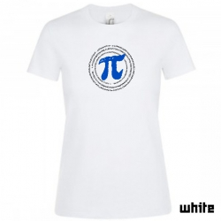 "Astamatitos T-Shirt  ""Π"" PI 3,14 Women"