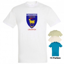 "Astamatitos T-Shirt ""CROATIA"" MEN"