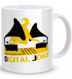 "Astamatitos Tasse ""DIGITAL JOKE"""