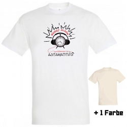 "Astamatitos T-Shirt ""MUSIC-ALARM"" MEN"