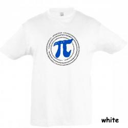 "Astamatitos T-Shirt  ""Π"" PI 3,14 KIDS"