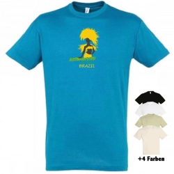 "Astamatitos T-Shirt ""BRAZIL"" MEN"