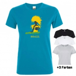 "Astamatitos T-Shirt ""BRAZIL"" Women"