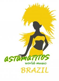 "Astamatitos Hoodie ""BRAZIL"" Unisex"