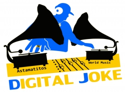 """Astamatitos T-Shirt  """"DIGITAL JOKE"""" Women"""