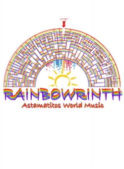 "Astamatitos T-Shirt  ""RAINBOWRINTH"" KIDS"