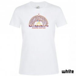 "Astamatitos T-Shirt  ""RAINBOWRINTH"" Women"