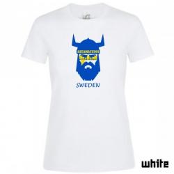 """Astamatitos T-Shirt """"SWEDEN"""" Women"""