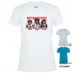 "Astamatitos T-Shirt  ""THREE WISE MONKEYS"" Women"