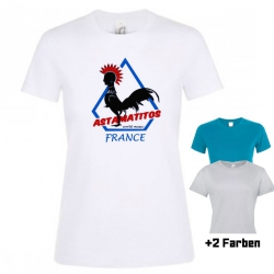 "Astamatitos T-Shirt ""FRANCE"" Women"