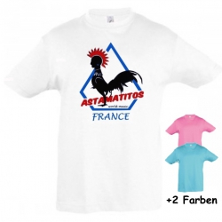 "Astamatitos T-Shirt ""FRANCE"" KIDS"