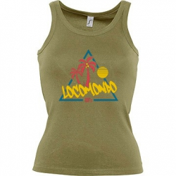"Locomondo Damentop ""80s"" Women, Olive"