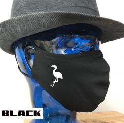 "Premium Baumwoll-Stoffmaske ""FLAMINGO"""