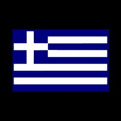 "Premium Baumwoll-Stoffmaske ""GREECE-FLAG"""