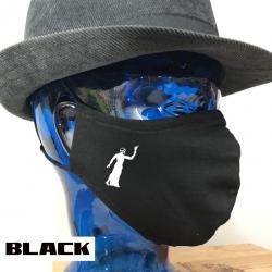 "Premium Baumwoll-Stoffmaske ""GREEK-FIRE"""