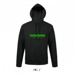 "Locomondo Hoodie ""Odysseia"" Unisex, Black"