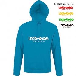 "Locomondo Hoodie ""Odysseia"" Unisex, Atoll Blue"