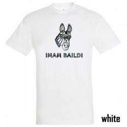 "Imam Baildi Bandschirt ""DONKEY"" Men's, white"