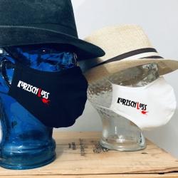 """Premium Baumwoll-Stoffmaske """"KURZSCHLUSS"""""""