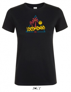 "Locomondo Bandschirt ""80s"" Women's, black"